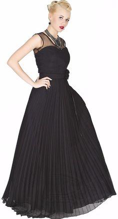 Sukienka romantyczna czarna plisowana (1) Jedyna okazja takiej ceny już nie będzie 111,62 zł/szt
