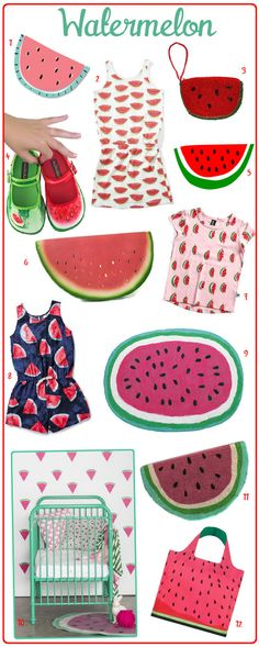 If you love a little trend spotting you would have noticed that watermelon design motifs have been popping up all over the place this season from gorgeous dress