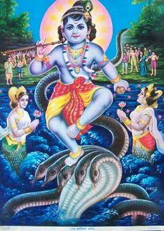 Krishna Krishna Lila, Baby Krishna, Krishna Radha, Shiva Hindu, Hindu Art, Hindu Deities, Mandala Art Therapy, Tanjore Painting, Krishna Painting