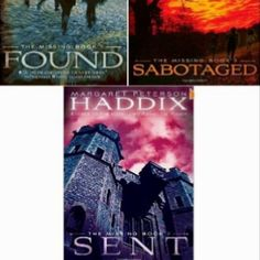 The missing series by Margaret Haddix