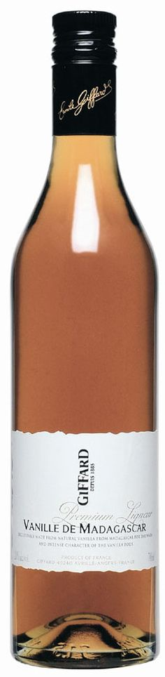GIFFARD Premium Liqueur - Vanille de Madagascar   70 cl - 20%