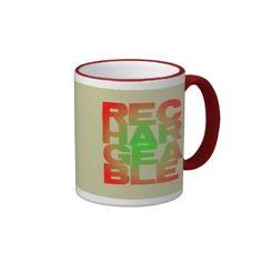 rechargeable ringer coffee mug