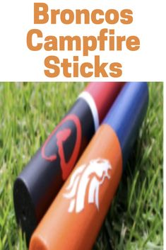 Bring your Denver Broncos with you when you are camping or enjoying s'mores in the back yard. These campfire sticks are the perfect gift idea for the Denver Broncos fan.  #denver #denverbroncos #broncosfootball #campfire #personalizedgifts #etsy #ad