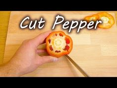 The Easiest Way to Cut a Pepper