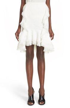 JASON WU Ruffle Pencil Skirt. #jasonwu #cloth #