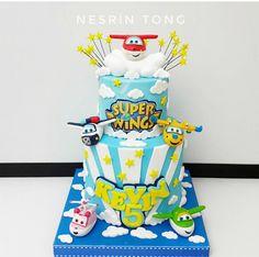 Planes Birthday, Baby Birthday Cakes, 4th Birthday, Birthday Parties, Birthday Ideas, Mickey Mouse Clubhouse Birthday, Big Cakes, Cakes For Boys, Birthday Decorations