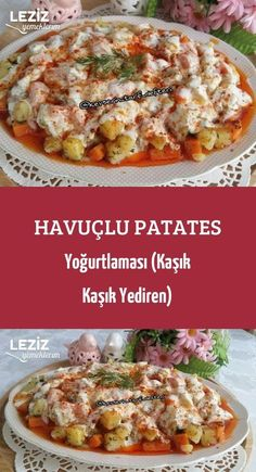 Havuçlu Patates Yoğurtlaması (Kaşık Kaşık Yediren) France is an independent nation in Western Europe and the biggest market of a large overseas administrat Turkish Recipes, Ethnic Recipes, Perfect Baked Potato, Best Macaroni And Cheese, Braised Brisket, Yogurt, Buttermilk Fried Chicken, Cozy Meals, Vegan Recipes