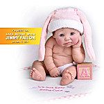 It's Not Easy Being Cute Resin Doll: Anatomically Correct Miniature Baby Doll    $39.99