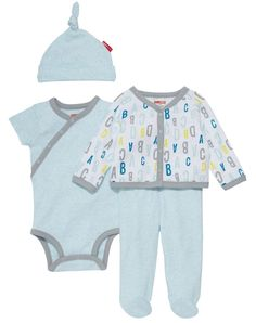 01240971524d Skip Hop Welcome Home ABC Baby Set for Girls Twin Outfits