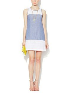 Fast Lois Chambray Shift Dress by French Connection on sale now on Gilt.