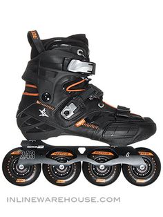 Powerslide S4 Freestyle Skates - Super, Sleek, Supple, Sturdy.  Cruise skatings for your commute or fun!