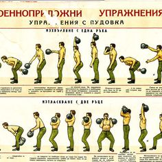 Classic Bulgarian Kettlebell Lifting Poster. #kettlebell #kettlebells #kettlebellsport #girya #giryasport #fitness #crossfit #strength…