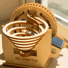The Marble Machine (Solar Powered)