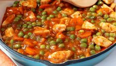 European Cuisine, Romanian Food, Kung Pao Chicken, Ratatouille, Cooking Recipes, Lunch, Ethnic Recipes, Green Peas, Dinners