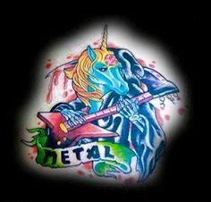 Metalcore unicorn | The 17 Most Insane Heavy Metal Tattoos Ever