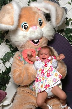 31 Kids Who Just Had Their Lives Ruined By The Easter Bunny