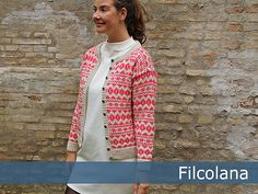 Dagens gratisoppskrift: Azalea | Strikkeoppskrift.com | Bloglovin'