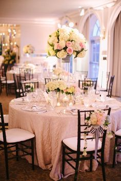 #tablescapes, #centerpiece  Photography: Jodi Miller Photography - jodimillerphotography.com Wedding Planning and Design: Strawberry Milk Events - strawberrymilkevents.com Floral Design: Pat\'s Floral Design - patsfloraldesign.com  Read More: http://www.stylemepretty.com/2013/03/20/charlottesville-wedding-from-jodi-miller-photography/