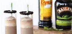 Frozen Mint Baileys and Kahlua Mudslide