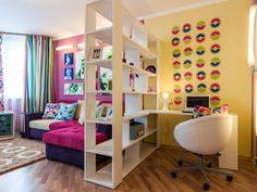 Пример расположения мебели с учетом рабочего места