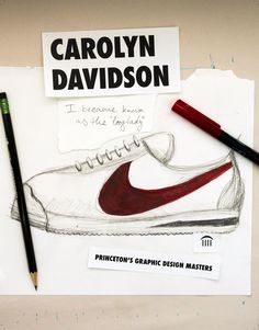 Carolyn Davidson Nike Swoosh | AVT 311 Project 2 | Pinterest | Carolyn  davidson