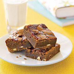 Raspberry-Swirl Brownies Recipe   MyRecipes.com