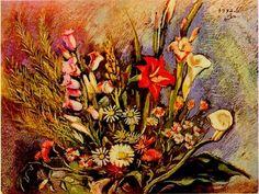 꽃 2, 이인성