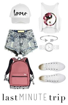 """""""Untitled #55"""" by jazzminmillwood on Polyvore featuring Topshop, Bling Jewelry, DKNY, Converse and Victoria's Secret"""