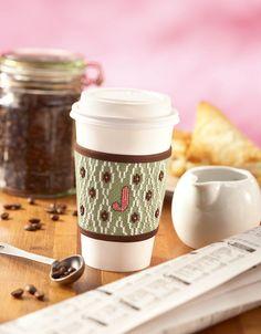 Kitchen Essentials Cross Stitch Coffee Clutch Wrapper