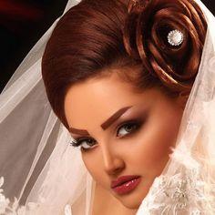 مدل شینیون عروس مدل موی عروس ایرانی