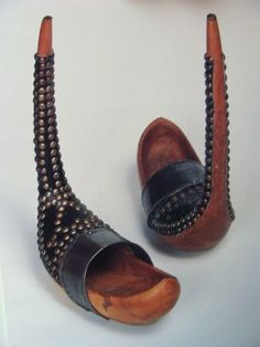 Wooden shoes from Bethmale Valley