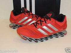 Adidas Springblade Drive Men's Running Shoes - Size 6.5 - Scarlet/Black