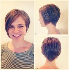 Pretty Short Haircuts for Straight Hair - Short Hairstyles 2015