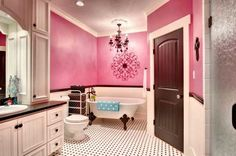 17 Cheerful Ideas To Decorate Functional Colorful Bathroom - http://homedesignfind.press/17-cheerful-ideas-to-decorate-functional-colorful-bathroom/
