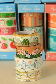 This is really cute self-adhesive masking paper tape