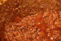 Delicious No Bean Chili Recipe!  Fall Food