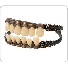 Want! Gilding Primal Instinct Dental Cuff