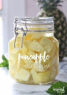 Two fruit infused cocktails are made with homemade infused liquors to create bright and refreshing libations for the summer. Party Drinks, Cocktail Drinks, Fun Drinks, Cocktail Recipes, Alcoholic Drinks, Beverages, Liquor Drinks, Bourbon Drinks, Margarita Recipes