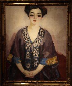 Adèle Besson - Kees Van Dongen, 1908. Musée Albert Andre, Hôtel de Ville, Bagnols-sur-Cèze, France