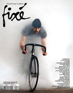 Fixé magazine design by Nascapas
