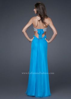 Prom Dress Long Sequins Blue