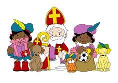 Sinterklaas kaart 1a, verkrijgbaar bij #kaartje2go voor €1,89