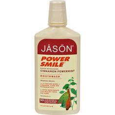 Jason PowerSmile Mouthwash Cinnamon Mint - 16 fl oz