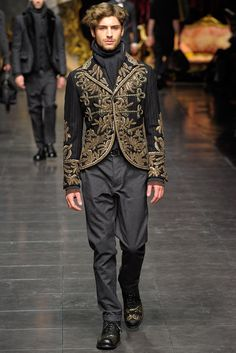 Dolce & Gabbana | Fall 2012 Menswear Collection | Style.com
