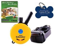 E-Collar ET-300TS Mini-Educator 1/2 Mile Remote E-Collar Training System - One Dog (**with FREE GIFTS**) >>> Details can be found by clicking on the image.