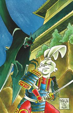 Usagi Yojimbo Color Special: The Artist  Stan Sakai (W/A/Cover) and Tom Luth (C)  On sale July 9 FC, 32 pages $3.99 One-shot  The artist of 47 Ronin returns to his signature creation in a new one-shot collecting four Usagi Yojimbo tales in full color, from the pages of Dark Horse Presents and MySpace DHP! In this issue, Usagiencounters ghosts, thugs, pumpkins(?!), and a foreign artist with a price on his head!