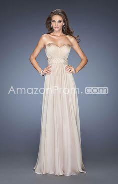 2014 Elegant Floor-length Sweetheart Sheath/Column Natural Waist Chiffon Prom Dresses