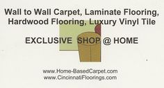 We will take great care of your flooring needs !