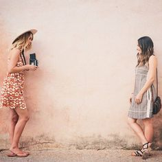 Lauren Conrad and Hannah Skvarla on a trip to Mexico for The Little Market