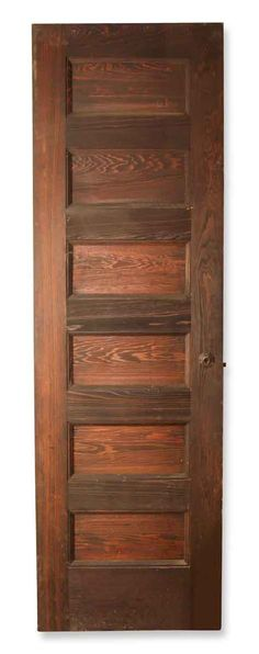 Vintage six panel wooden door. The original mortise and octagon rosette, back plate, and strike plate are included. Ask about our large selection […] Antique Door Hardware, Antique Doors, Arched Doors, Entry Doors, Antique Interior, Back Plate, Pocket Doors, Architectural Salvage, Wooden Doors